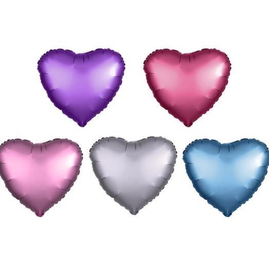 Фальгированный шар Сердце микс