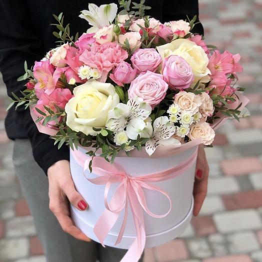Шляпная коробка Романтика