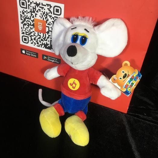 Игрушка мышь из Леопольда