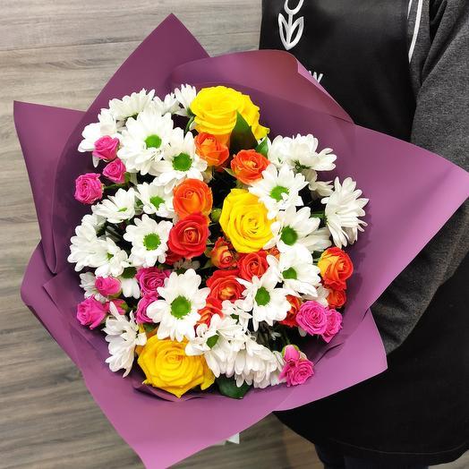 ✅Авторский букет из свежих цветов