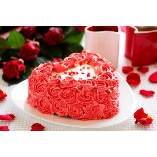 Торт Комплимент Сердце