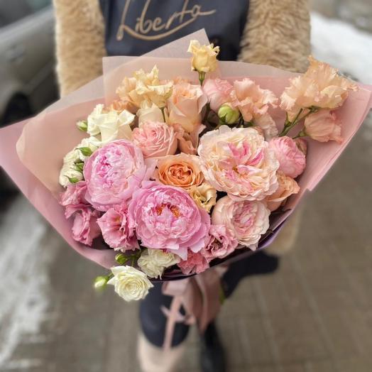 Роза персик М