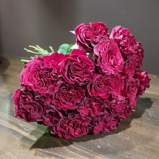 Моно кружевных роз 19 шт