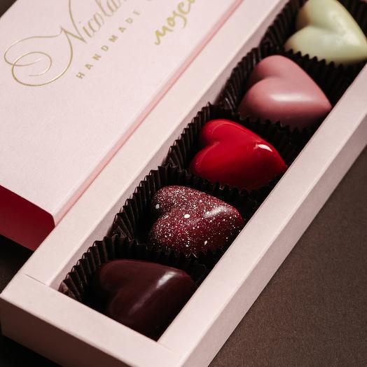 """Шоколадные конфеты """"Магия любви"""""""