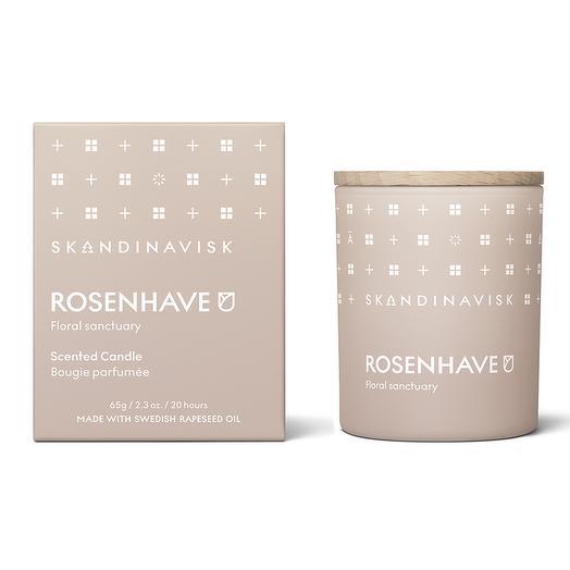 Свеча ароматическая rosenhave с крышкой, 65 г (новая)  S K A N D I N A V I S K SK20210