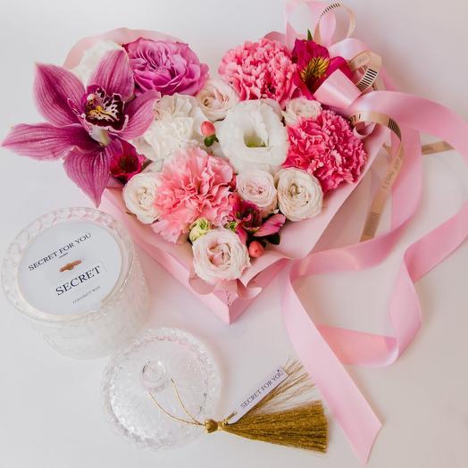 Валентинка цветочная