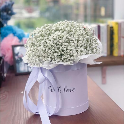 Цветы в коробке Превосходная нежность