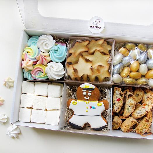"""""""Мой Адмирал"""", подарочный набор сладостей для мужчины"""