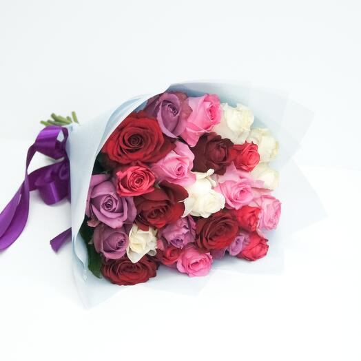 Букет из 25 роз (40см)