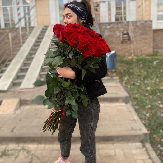 Букет роз премиум класса