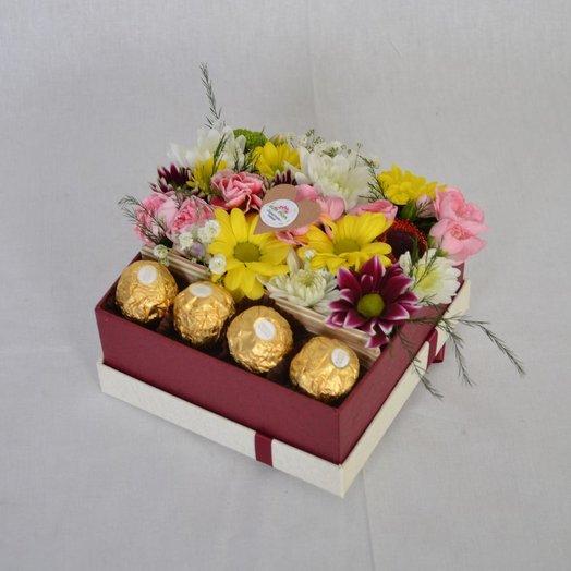 Коробочка с Ferrero rosher 3
