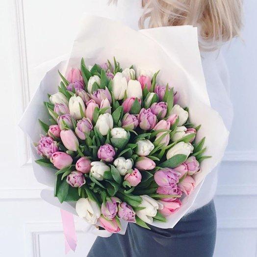 Френч: букеты цветов на заказ Flowwow