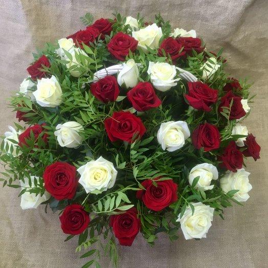 """Корзина """"Анна"""": букеты цветов на заказ Flowwow"""