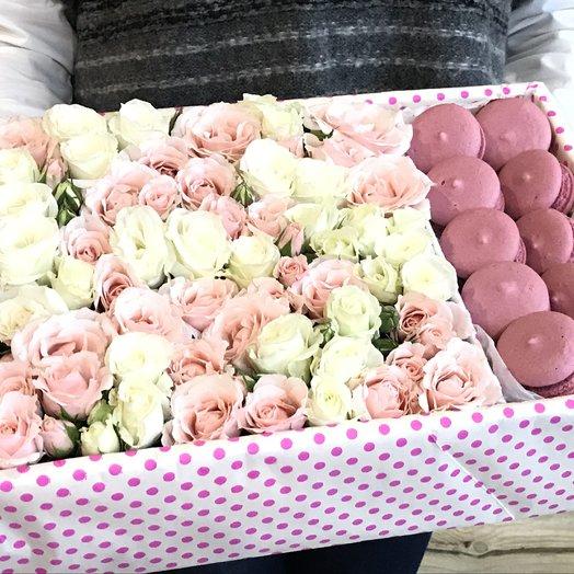 Коробочка шикарная: букеты цветов на заказ Flowwow