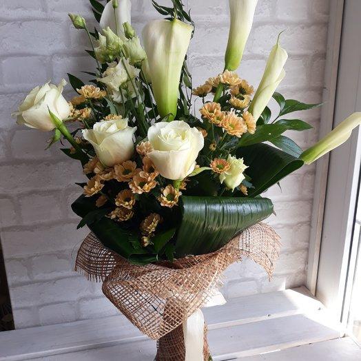"Букет ""Космос"": букеты цветов на заказ Flowwow"