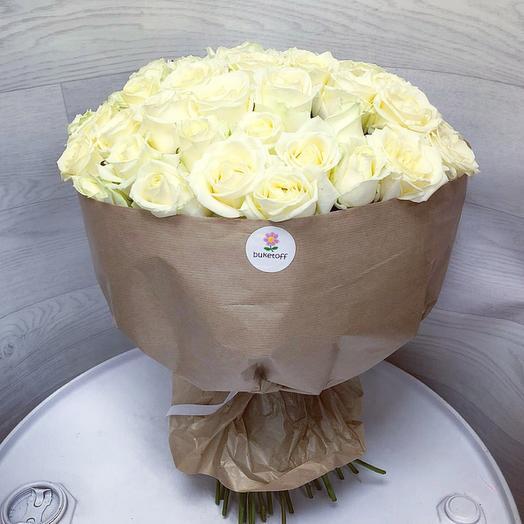 51 элитная роза : букеты цветов на заказ Flowwow