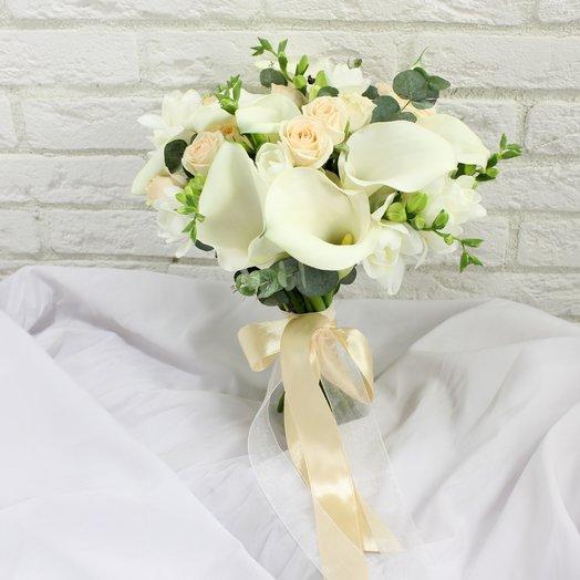Свадебный Букет  24: букеты цветов на заказ Flowwow