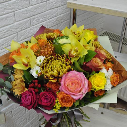Осеннее настроение: букеты цветов на заказ Flowwow