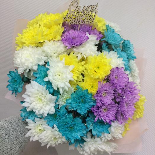Цвет настроения радуга: букеты цветов на заказ Flowwow