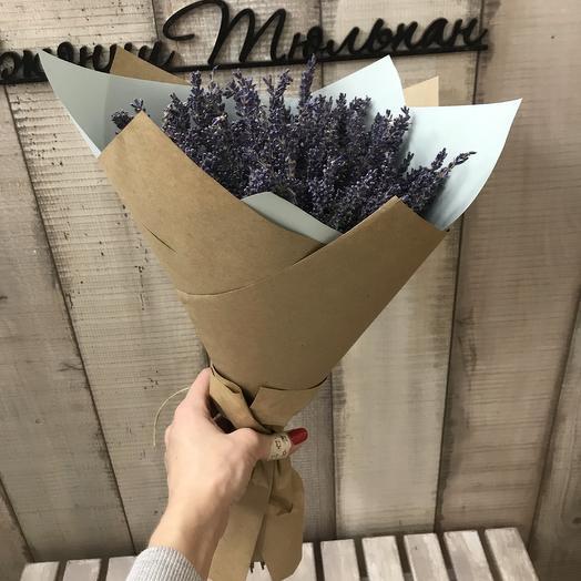 Букет лаванды «Аромат Прованса»: букеты цветов на заказ Flowwow