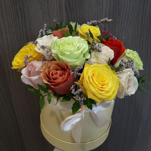 Коробка радости: букеты цветов на заказ Flowwow