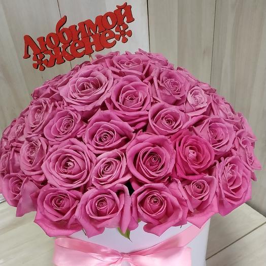 """Букет """"Жёнушке"""": букеты цветов на заказ Flowwow"""