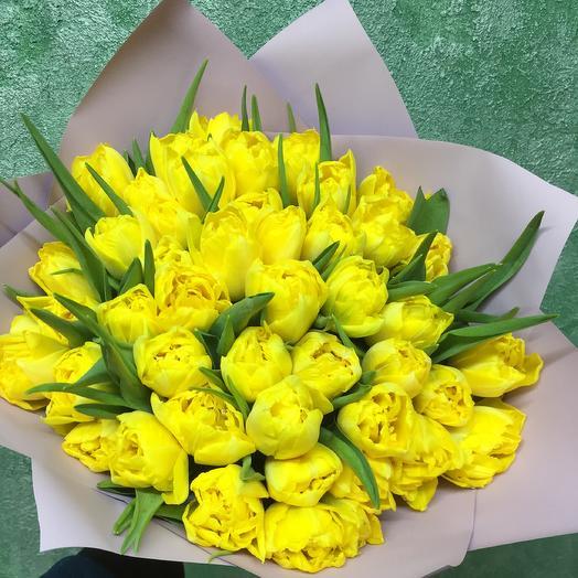 Шикарные тюльпаны: букеты цветов на заказ Flowwow