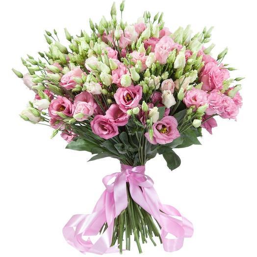 Эустома Китайскя роза любви: букеты цветов на заказ Flowwow
