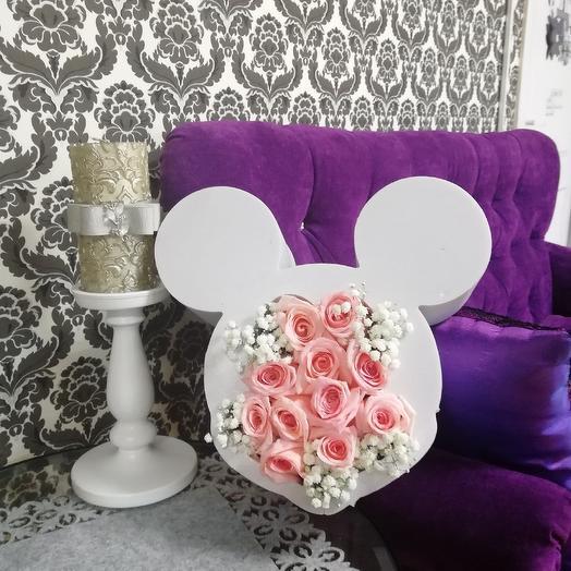 Мики Маус: букеты цветов на заказ Flowwow