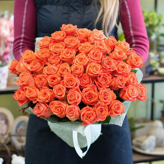 """Букет из роз """"WOW"""": букеты цветов на заказ Flowwow"""