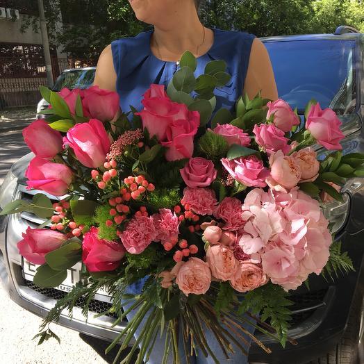 Розовый гигант: букеты цветов на заказ Flowwow