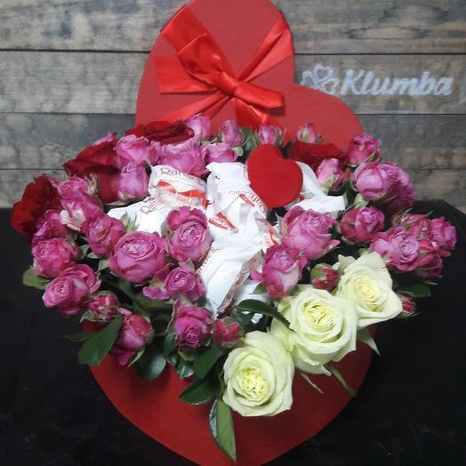 От самого сердца: букеты цветов на заказ Flowwow