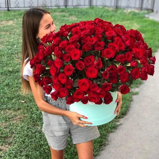 205 роз: букеты цветов на заказ Flowwow