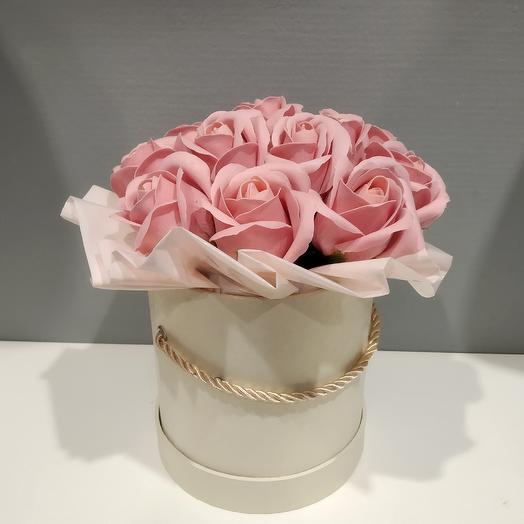 "Коробка из мыла ""Принцесса"": букеты цветов на заказ Flowwow"