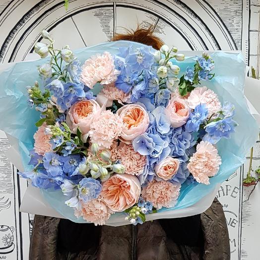 Букет Лазурное небо: букеты цветов на заказ Flowwow