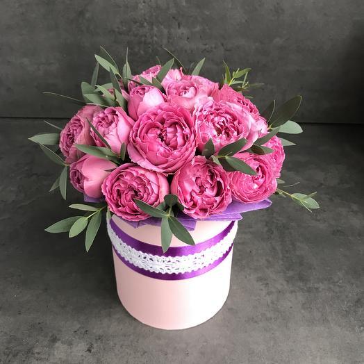 Розовая жемчужина: букеты цветов на заказ Flowwow