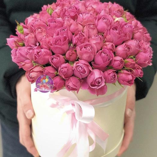 "Коробочка ""Нежная Мисти"": букеты цветов на заказ Flowwow"
