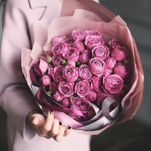 "Букет ""Мисти Баблз"" Small: букеты цветов на заказ Flowwow"