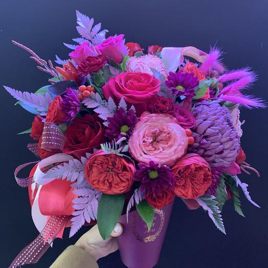 Вишня в шоколаде: букеты цветов на заказ Flowwow