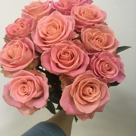 Роза Эквадор 11шт: букеты цветов на заказ Flowwow