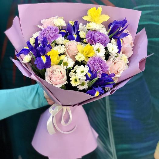 Букет «Летнее настроение»: букеты цветов на заказ Flowwow