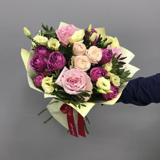 14 февраля: букеты цветов на заказ Flowwow