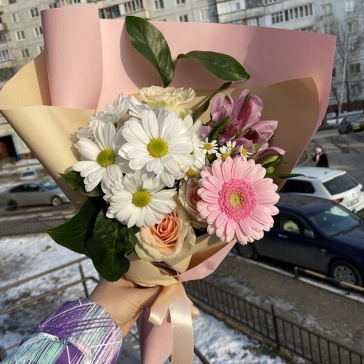 Нежная любовь💜: букеты цветов на заказ Flowwow