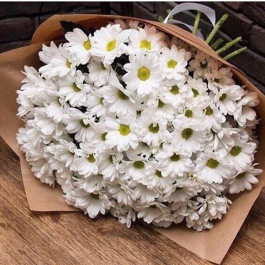 Букет (хризантемы)
