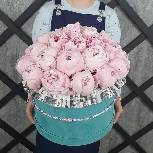 Faces аnd  piones: букеты цветов на заказ Flowwow