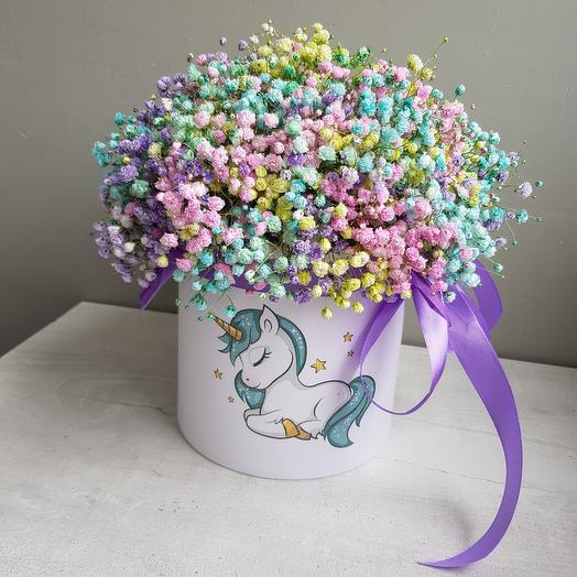 """Сон Единорожки🦄"": букеты цветов на заказ Flowwow"