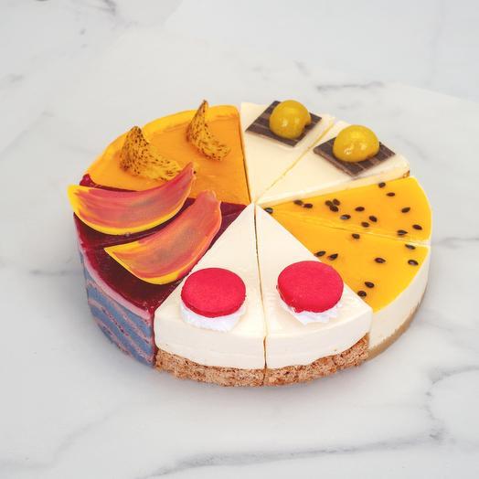 Торт «Фруктово-ягодное ассорти»