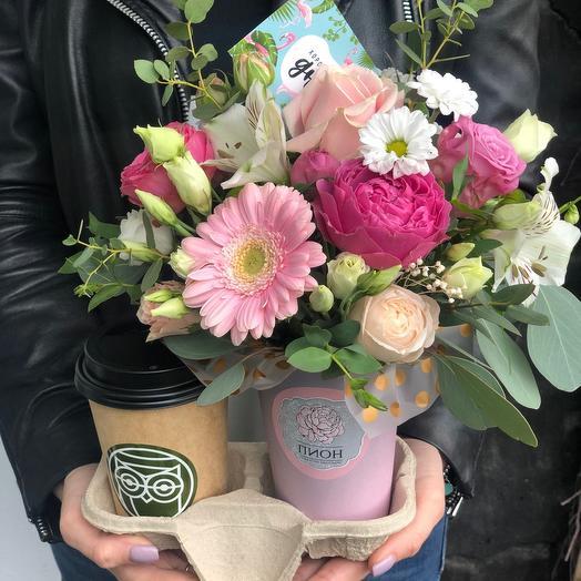 Набор flowers and coffee ☕️