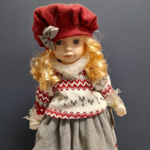 Кукла фарфоровая Иришка 50см