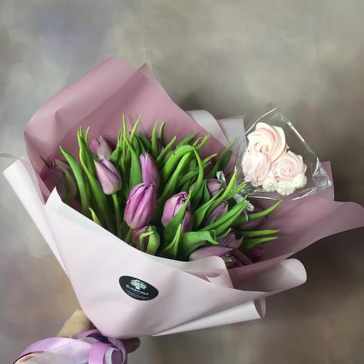 Тюльпаны с сюрпризом